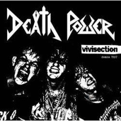 Death Power – Vivisection - Demos 1987 CD